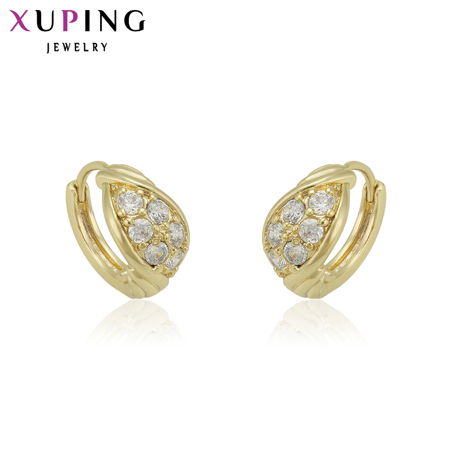 Xuping Fashion Earring Promosi Gaya Baru Perhiasan Anting Warna - Perhiasan fesyen - Foto 1