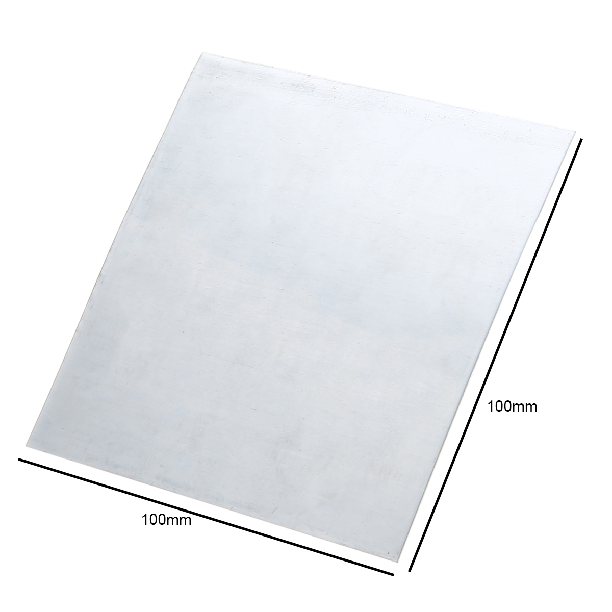 5pcs Pratical Pure Zinc Zn Sheet Plate Metal Foil 100mmx100mmx0.5mm For Science Lab Accessories 1pc high purity copper plate cu metal foil sheet 0 1x200x1000mm best price for power tool accessories