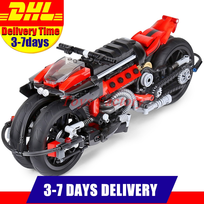 DHL Xingbao 03021 680Pcs Technic Series The Off-road Motorcycle Set Building Blocks Bricks Toys Model for Children Gifts starpad for xinyuan off road motorcycle accessories x2 x2x off road vehicles after the fender white