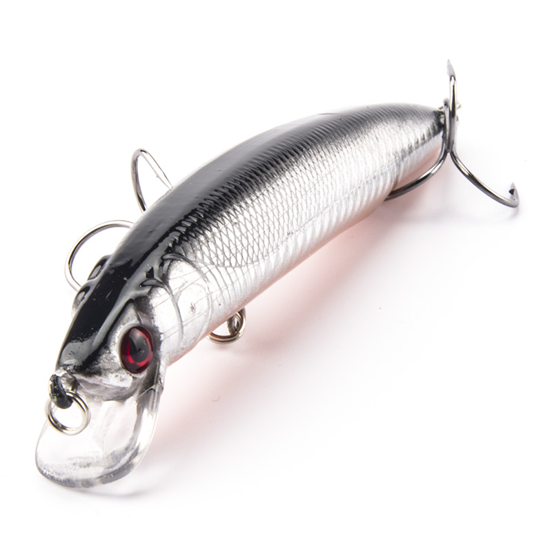 Brand High Quality 11cm 18.5g 1# Hooks Minnow Fishing Lure Deep Diver Wobble Plastic Hard Bait Crankbait