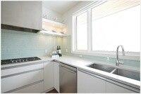 2017 new customized white kitchen furnitures modular kitchen cabinets new modern design