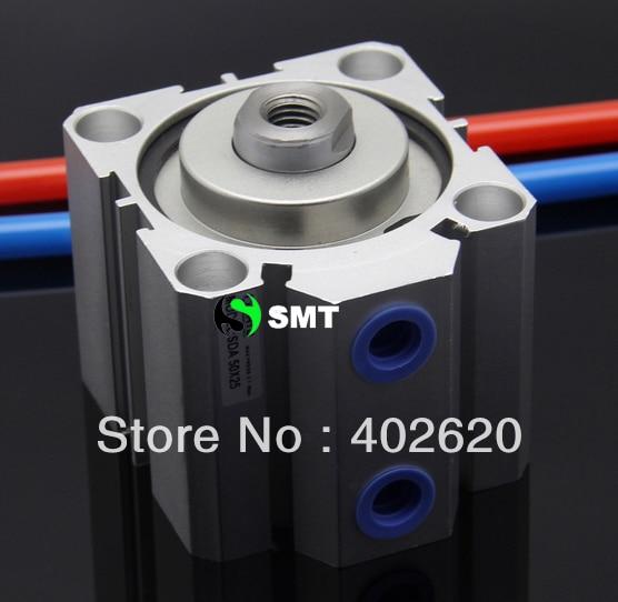 цена на 2pcs/lots,SDA100-40,100mm bore, 40mm stroke, pneumatic compact cylinder, free shipping