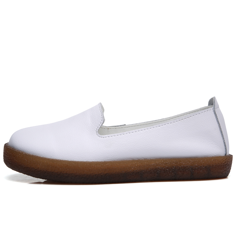 Femmes Souliers 01 Dames Véritable Sole 01 Red Green on Chaussures Appartements En Rond Slip Muscle Femme White 02 Doux Cuir 01 Beije Black Bout Brown 03 White Black 03 Red Wine 03 02 Automne Confortable Snurulan 02 Blue 02 OwXdBqx7O