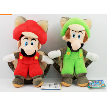 Free Shipping red green Super Mario Plush Doll Toy 10pcs/lot 9inch 23cm Bat Mary Luigi Cute Gift For Birthday Chrismas cute toys super cute plush toy dog doll as a christmas gift for children s home decoration 20
