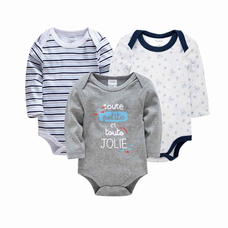 3 предмета, 2018 г., плотное Хлопковое платье-шорты с длинными рукавами и воланами для маленьких девочек, комбинезон для новорожденных мальчиков Ropa Bebes, Комбинезоны для маленьких девочек, джемперы с медведями