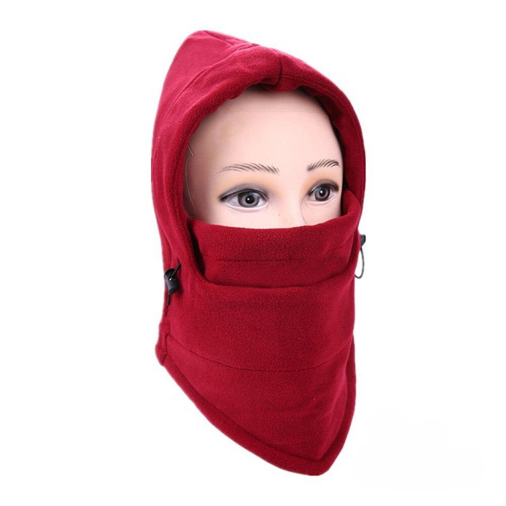 Новинка, 6 в 1, уличные Лыжные маски, велосипедные лыжные шапочки, зимние шапки с защитой от ветра# NE920 - Цвет: B