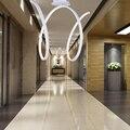 Moderno minimalista iluminación de la lámpara del pasillo de entrada dormitorio carácter exportados a Europa y los Estados Unidos Oficina