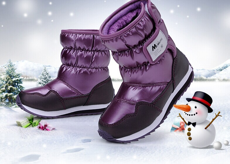 Online Shop Best Winter Children Shoes Snow Boots Parent-child ...