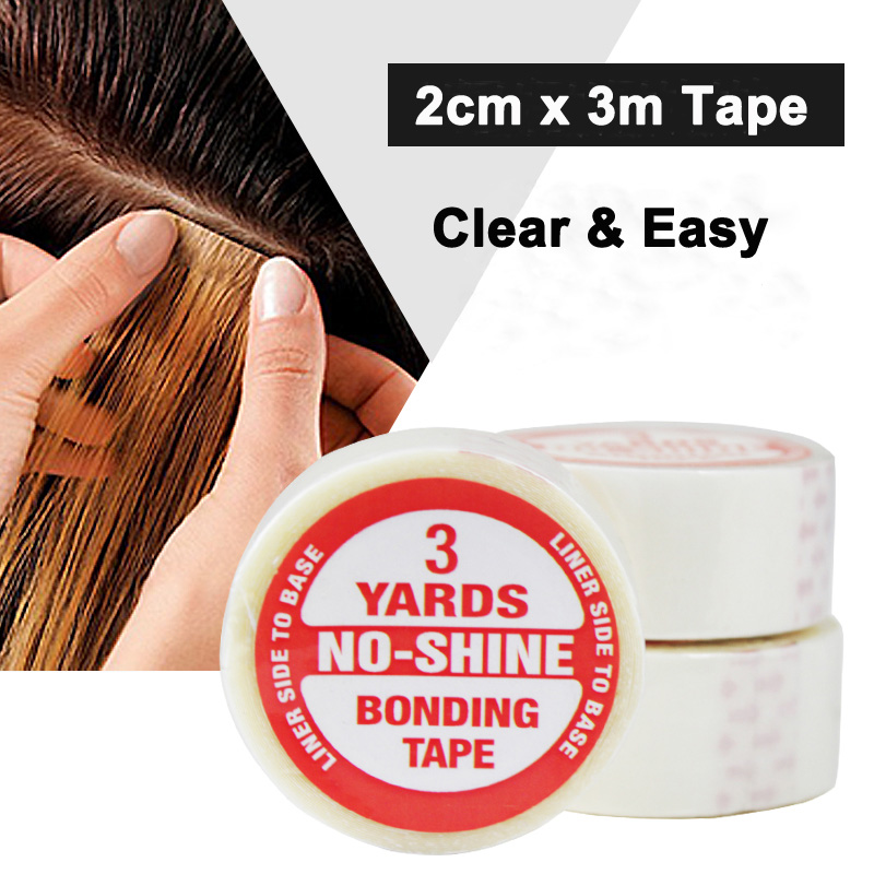 Wholesale Super Hair Tape Double-sided Adhesive Tape For Hair Extension/lace Wig/toupee And Pu Tape Hair Weft Hair Extensions & Wigs Adhesives