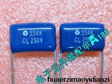 10 PCS film condensateur CBB CL21nf 0.33 UF 334 k 334 v 330 pieds distance de 15mm