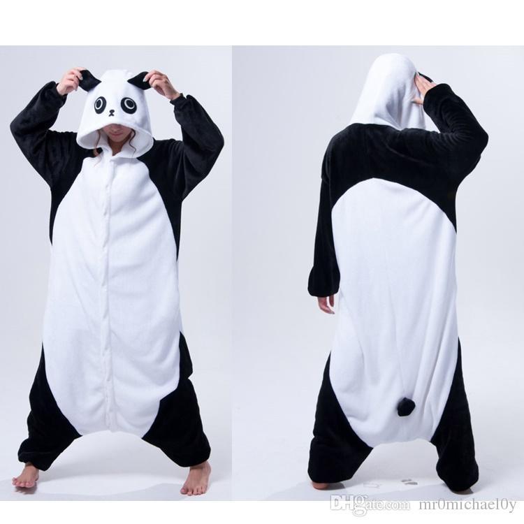56dd928c2f38 Funny Animal Costume Pajamas Onesies Kongfu Panda For Adult Men And Women  One Piece Onesie Pajamas Sleepwear Jumpsuit