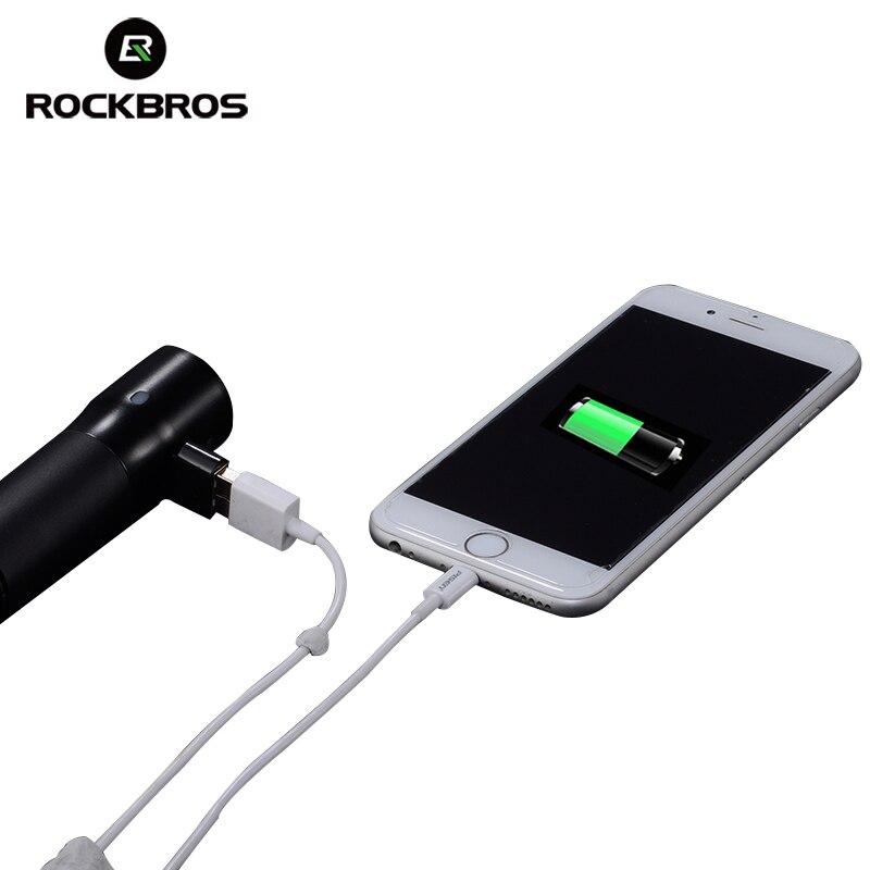 ROCKBROS bicikl USB punjiva svjetiljka 700 lumen MTB bicikla svjetlo - Biciklizam - Foto 3