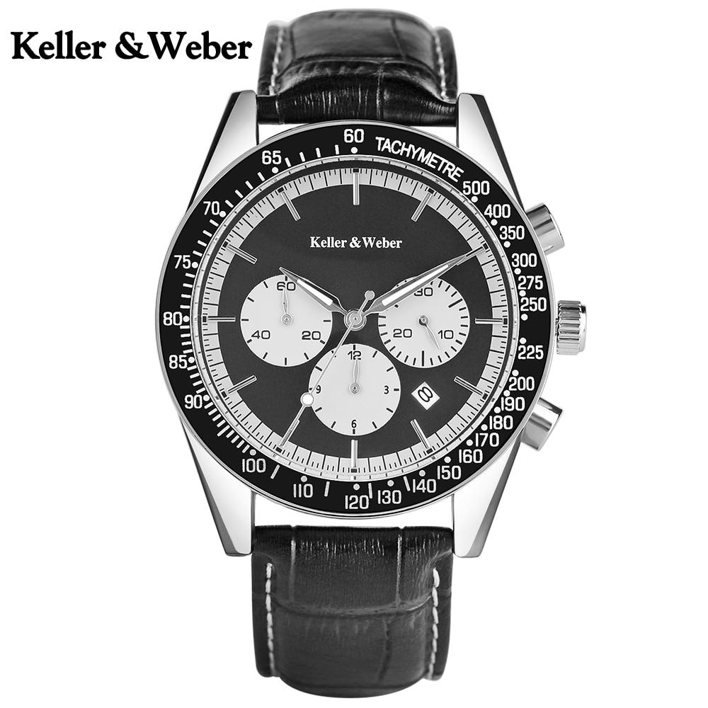 Keller & Weber Casual Sport Men Wrist Wa