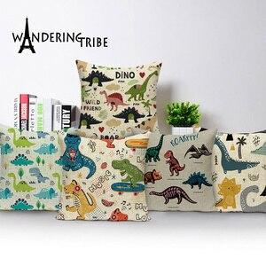 Dinosaur Cushion Cover Case An