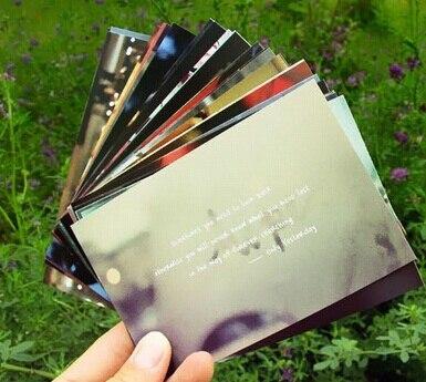 Us 29 16 Werbegeschenke Visitenkarten Spaß Kreative Retro Japan Hayao Miyazaki Bekannte Spruch Postkarte Grußkarte Geschenk Karten Diy In