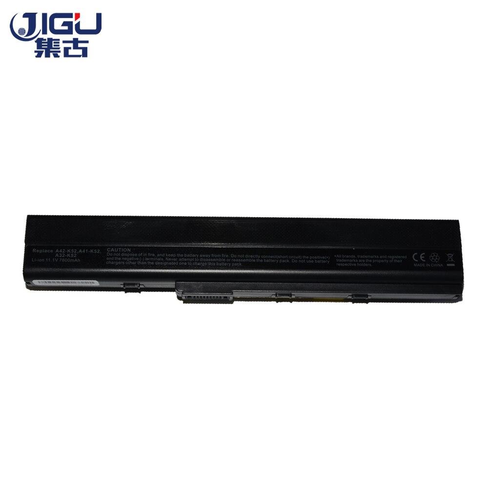 JIGU Haute Qualiy 9 Cellules Batterie D'ordinateur Portable Pour ASUS K52 K52D K52DE K52DR K52F K52J K52JB K52JC K52JE K52JK K52JR k52JV K52N