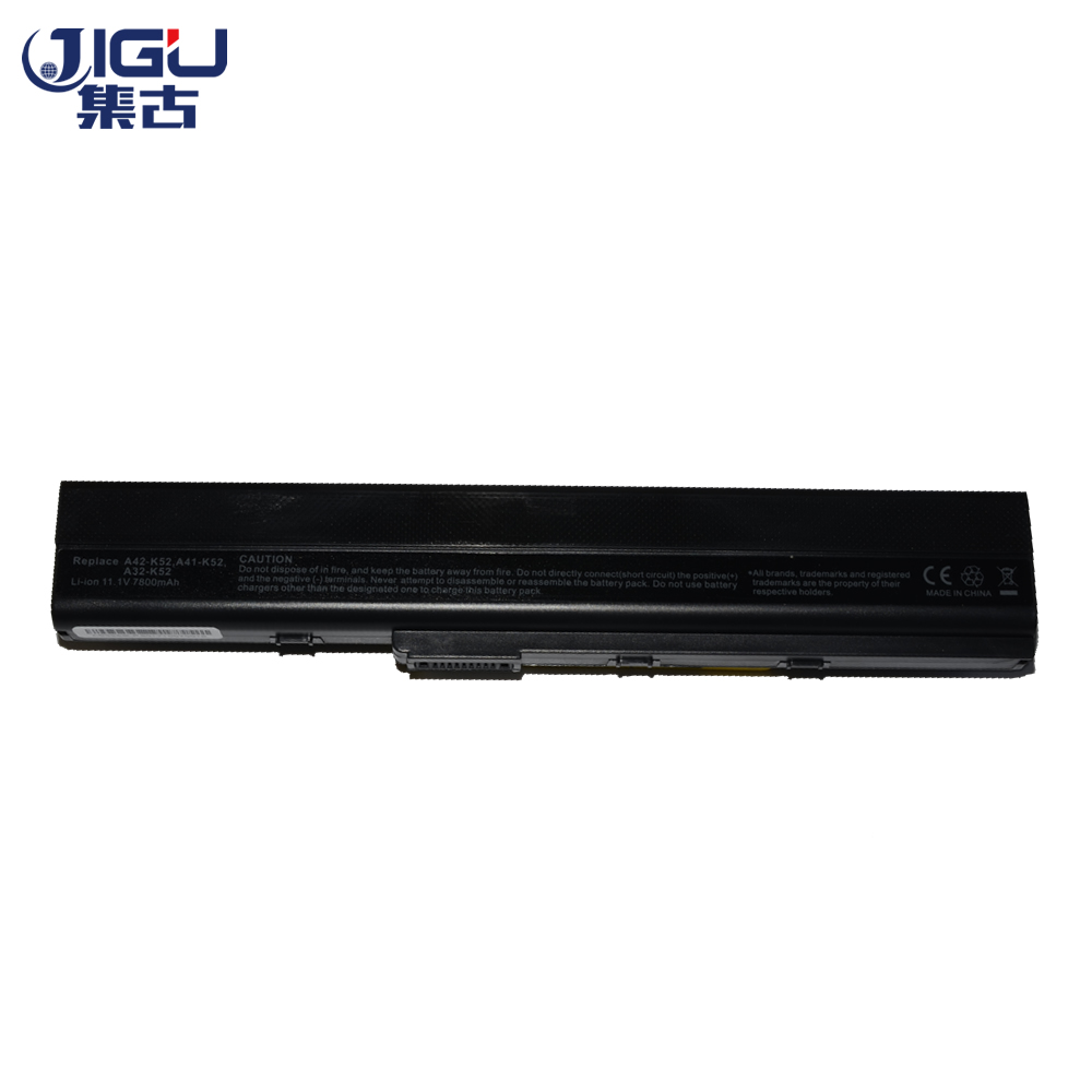 JIGU High Qualiy 9Cells Laptop Battery For ASUS K52 K52D K52DE K52DR K52F K52J K52JB K52JC  K52JE  K52JK  K52JR  K52JV K52N jigu laptop battery for dell 8858x 8p3yx 911md vostro 3460 3560 latitude e6120 e6420 e6520 4400mah