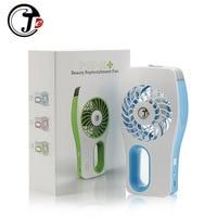 Rechargeable Fan Humidifier Mini Fan Essential Oil Diffuser Ventilador USB Fans Air Aroma Diffuser Ventilator Air Conditioner