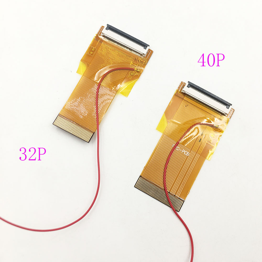 20 pcs 32pins 40pins DIY Backlit LCD Ribbon Cable Highlighted Ribbon Adapter for GBA SP Screen