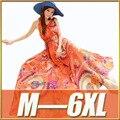 Nova 2016 Mulheres Verão Vestido Vestidos O-pescoço Sem Mangas Chiffon Seaside férias Maxi Vestido de Mulher vestidos de Praia Grandes Estaleiros M-6XL
