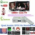 Mejor IPTV Árabe IPTV caja con 1100 + IP TV Ara bic No Cuota mensual Turquía Árabe TV box Soporte iptv Europa África TV Somalí