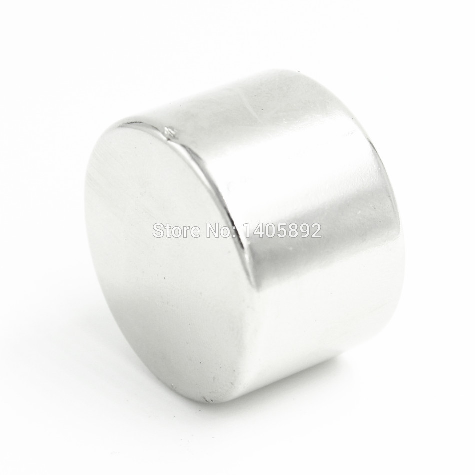 1pcs Super Powerful Strong Bulk Small Round NdFeB Neodymium Disc Magnets Dia 30mm x 15mm N35  Rare Earth NdFeB Magnet 2pcs bulk super strong neodymium rectangle block magnets 50mm x 30mm x 5mm n35 rare earth ndfeb rectangular cuboid magnet