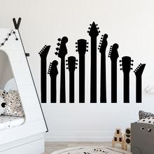 Removable music Art Sticker Waterproof Wall Stickers Kids Room Nature Decor Sticker Mural Living Room Art Decals vinilo pared birds on the tree removable wall decals stickers living room furniture decor mural art sticker zy8208