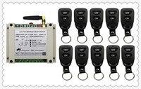 New DC12V 24V 36V 48V 10A 2CH Remote Control Light Switch Relay Output Radio Receiver Module