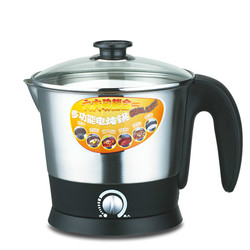 Electric kettle Mini mini electric hot pot 304 stainless steel multi-functional dormitory students coo