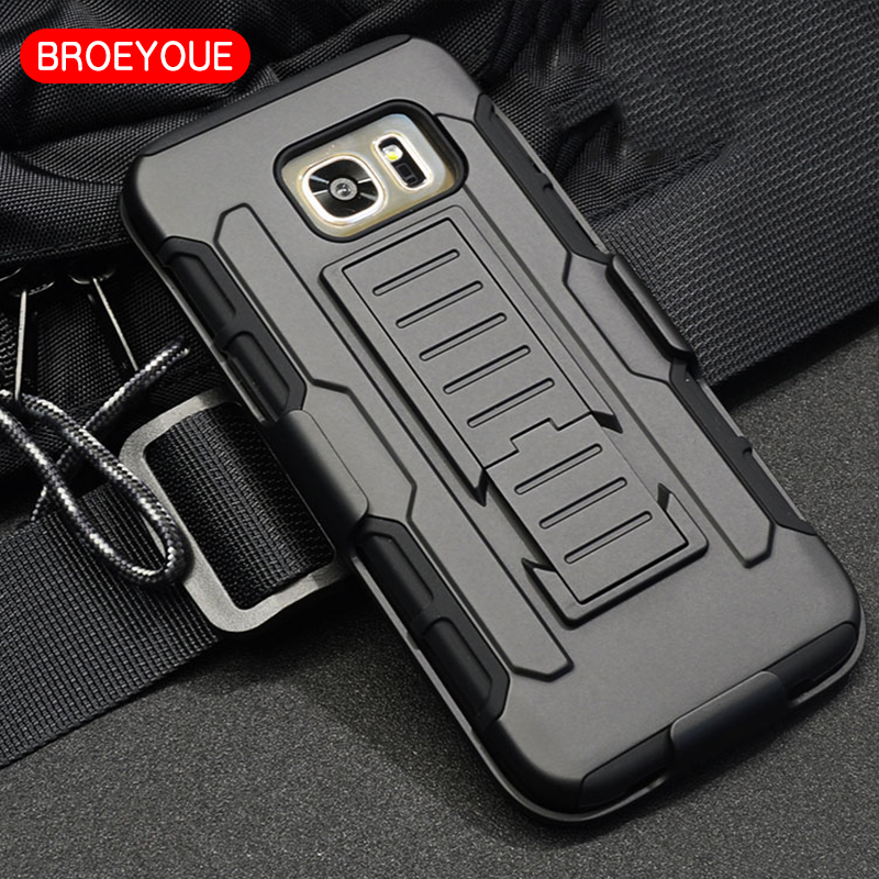 Armour Case Samsung Galaxy S7 S8 Plus J3 J5 J7 2016 Core 2 J1 S3 S4 S5 Mini Note 2 3 4 5 A3 A5 A7 A8 J1 2017 ჰიბრიდული ყდა