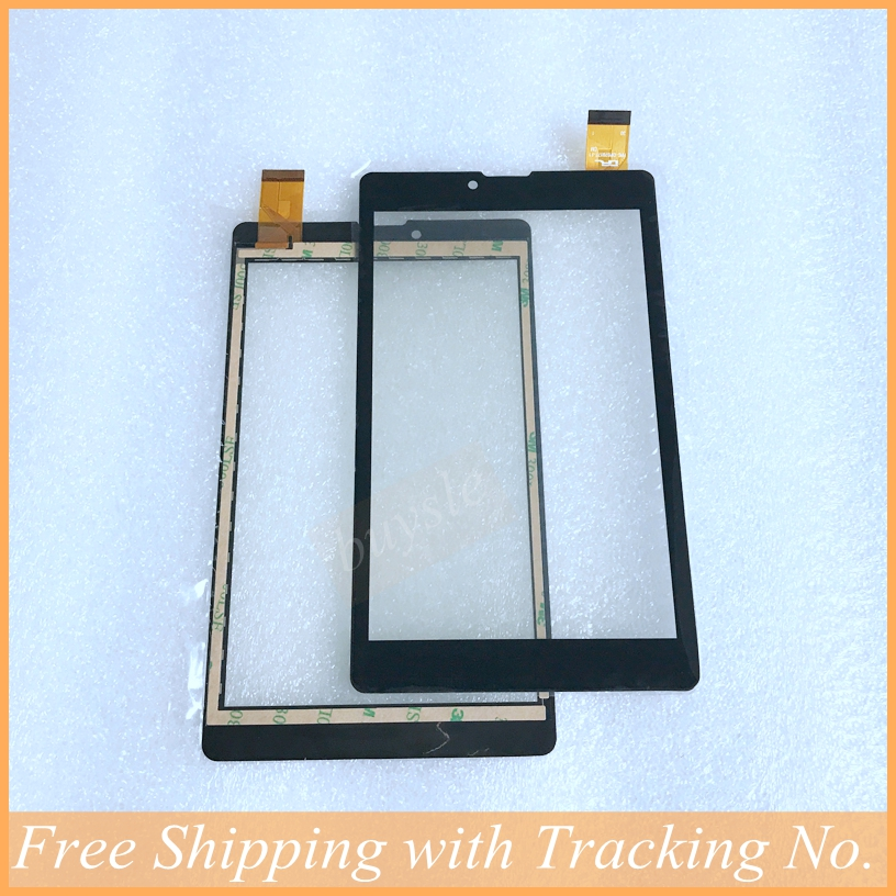 10pcs lot New For 7 inch Touch Screen digitizer capacitive panel glass lens Fpc dp070177 f1