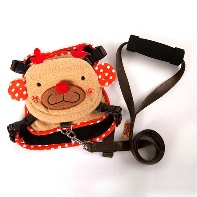 Leash For Dog Cute Elk Dog Harness Cloth Chest Strap Vest Dogs ...