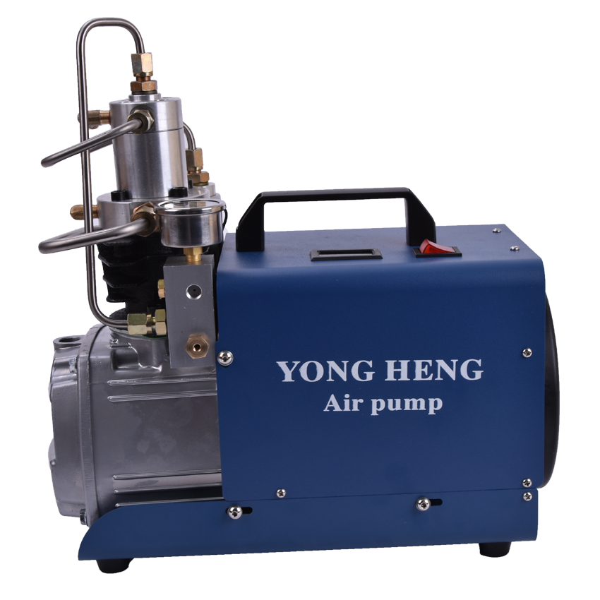 220V High Pressure Air Pump 300BAR 4500PSI 1.8KW Electric Air Compressor for Pneumatic Airgun Scuba Rifle PCP Inflator