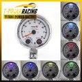 """3 3/4 """"tacômetro com 7 cores de led 0-8000 RPM/car gauge/calibre auto/Tacômetro metro/carro"""