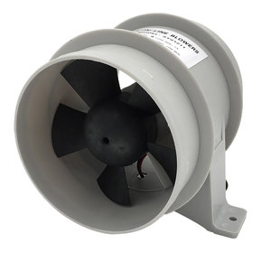 Image 3 - High Air Flow 4 Inch In Line Bilge Quiet Blower 12 Volt 4inch Dia. Hose Ventilador silencioso silence Marine Pump