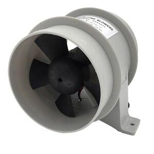 Image 3 - Yüksek hava akımı 4 inç In Line sintine sessiz fan 12 Volt 4inch Dia. Hortum Ventilador silencioso sessizlik deniz pompası