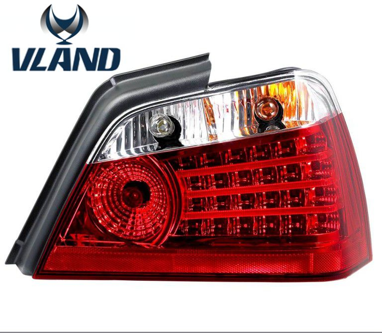 Free shipping for VLAND Tail lamp for Proton Waja 2000 LED taillights with brake+reverse+signal light