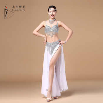 Bra Belt Shirt & Necklace Sets High-end Egypt Belly Dance Costume Belly Costume for Women Belly Dance Costumes Dance Skirt Cloth - DISCOUNT ITEM  6% OFF All Category