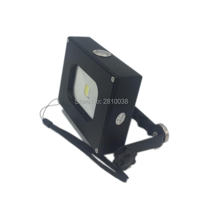 2 level Dimmer Metal body Led pocket flood lamp with power bank and Mini Pocket led work lamp for emergency light 2 Pack
