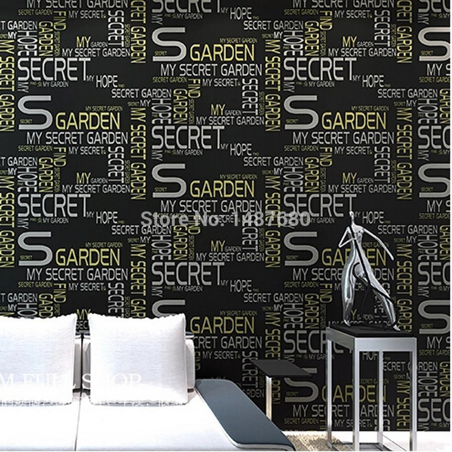 beibehang Simple English alphabet papel de parede 3D wallpaper flocking wallpaper bedroom living room home decoration wall paper beibehang classic fashion simple striped living room papel de parede wallpaper background wall full flocking nonwoven wallpaper