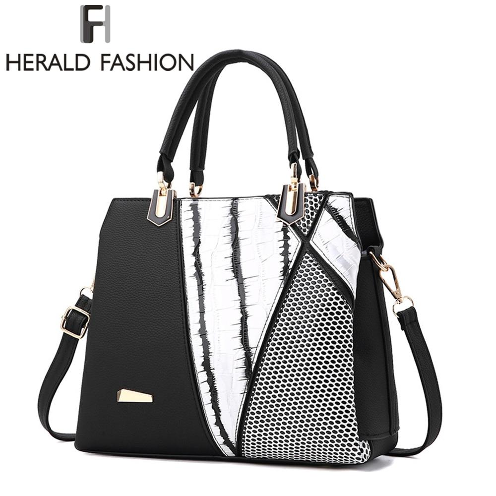Online Get Cheap Black and White Designer Handbags -Aliexpress.com ...