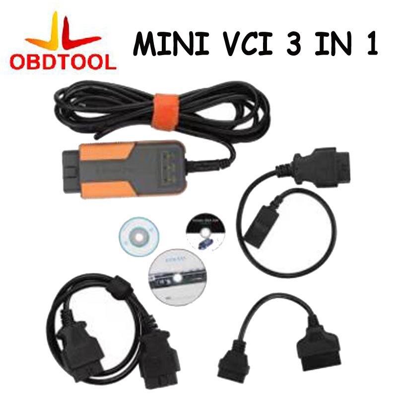 MINI VCI 3 IN 1 V10.30.029 TIS Techstream for Toyota MINI VCI for Toyota/Honda/Volvo MINI VCI Car Diagnostic Tool