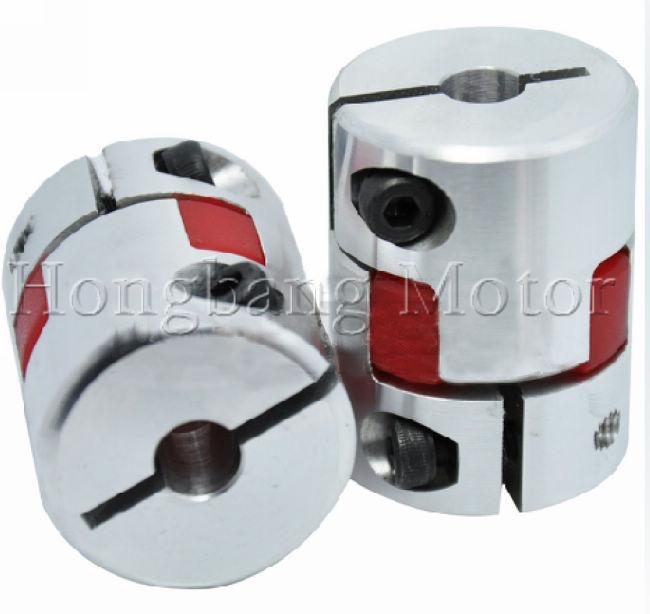 3pcs CNC Coupling Flexible 8x10mm D30L40 Jaw Spider Plum Coupling Shaft Coupler jm80c od80 l114 servo motor coupling jaw coupling flexible coupling shaft coupling