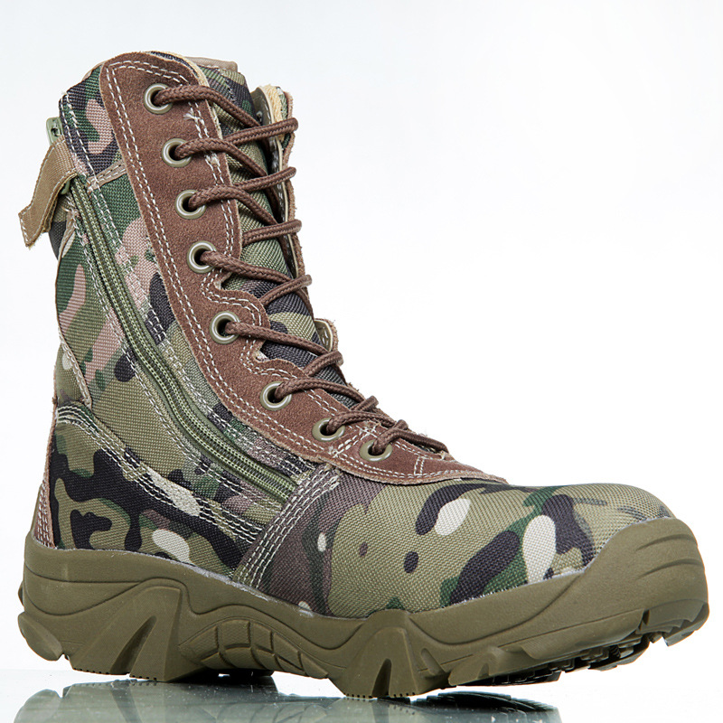 ba700047857 At Ur Hand Men Ankle Boots Camouflage shoes Military Tactical Combat Boots  Desert Boots Botas Autumn Winter shoes size 39 45 on Aliexpress.com