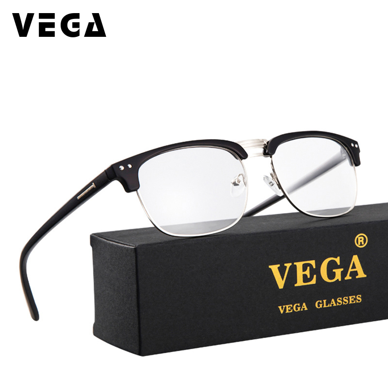 VEGA Square PC Glasses for Computer Anti Blue Light Anti Fatigue Eyewear Computer Protection Glasses UV400 7300