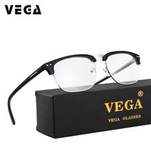 VEGA Square PC Glasses For Computer Anti Blue Light Anti Fat