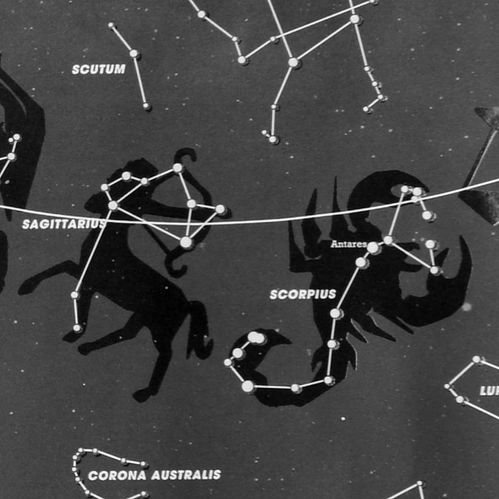 Qaranlıq Divar Stikerində Parıltı İşıqlı Astronomiya Ulduz - Ev dekoru - Fotoqrafiya 5