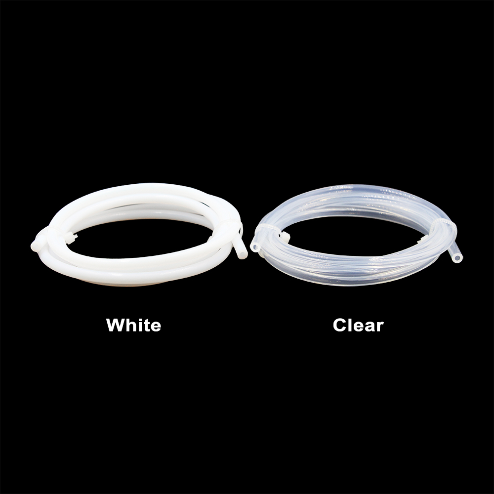 1Meter PTFE Tube Teflon PiPe To J-head Hotend RepRap Rostock Bowden Extruder Throat Filament ID 2mm ID 3mm OD 4mm For 3D Printer