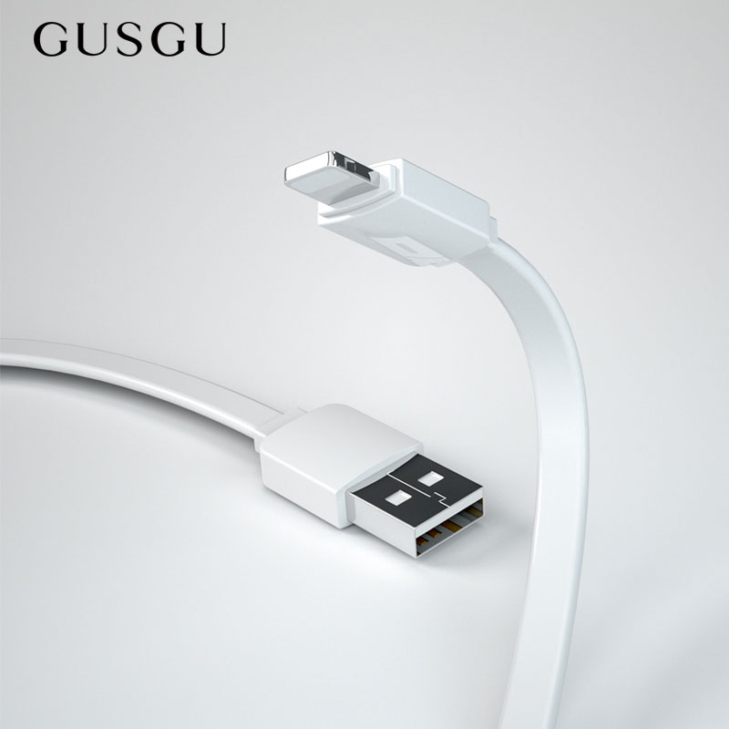 GUSGU 5V Fast Charging USB Charger Cable for iPhone X 8 8 Plus Mobile Phone Lighting