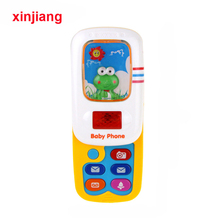 Phone-Toys Educational-Toy Baby-Slider Musical-Sound-Phone Mobile Kids Children for Infant